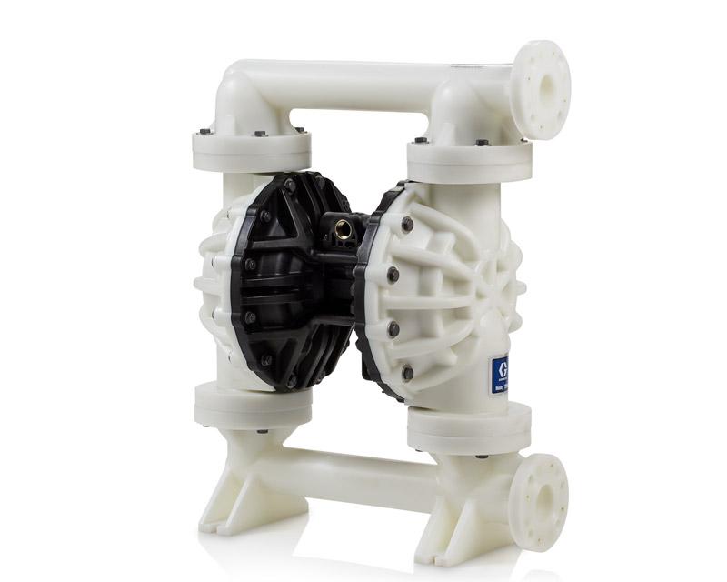 Utilização da bomba pneumática de duplo diafragma