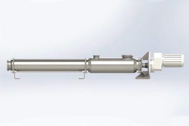 Utilização da bomba sanitária de rotor helicoidal