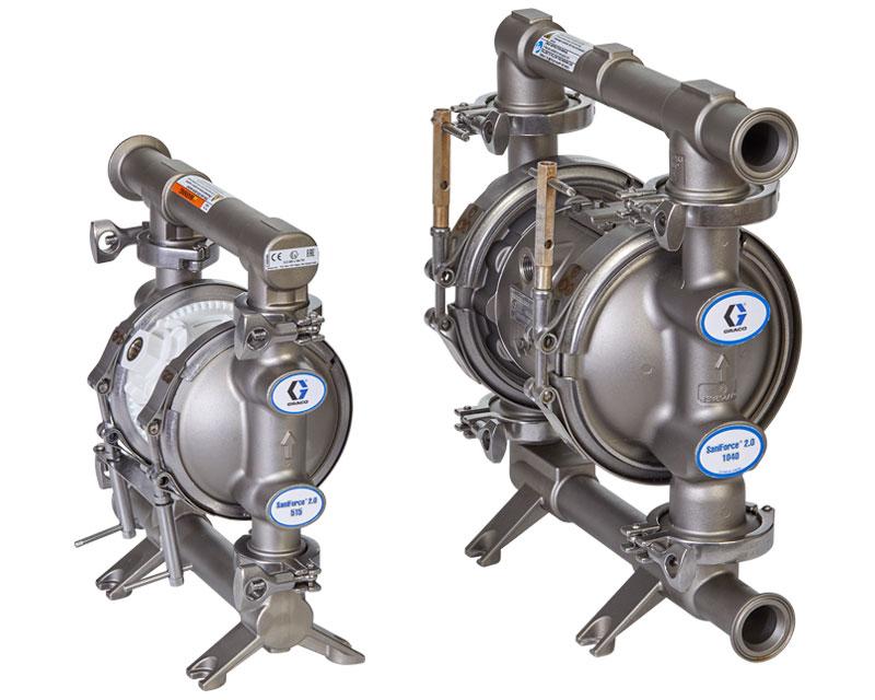 Vantagens da bomba sanitária pneumática de duplo diafragma
