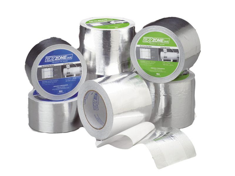 Fitas adesivas de retenção de gás de proteção